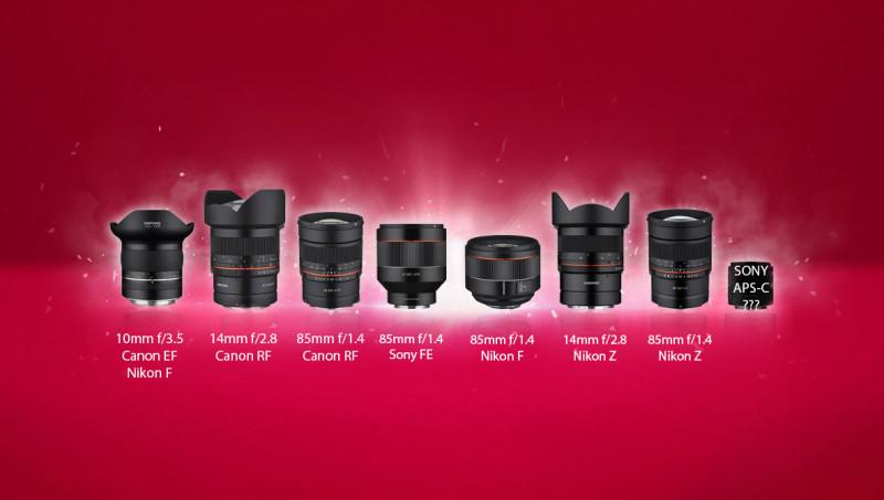 samyang-8-lenses-2019-spring-autofocus-mirrorless-canon-nikon-sony
