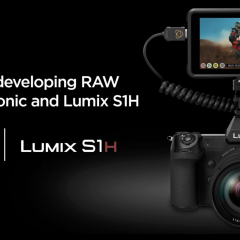 RAW videó is lesz a Panasonic S1H-hoz