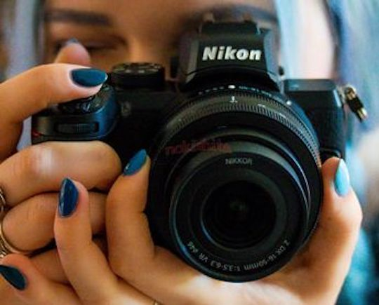 Nikon-Z50-mirrorless-APS-C-camera