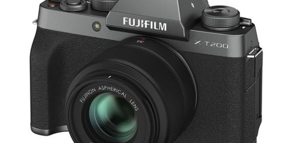 Fujifilm X-T200, GF 45-100, XC 35/2 bejelentések