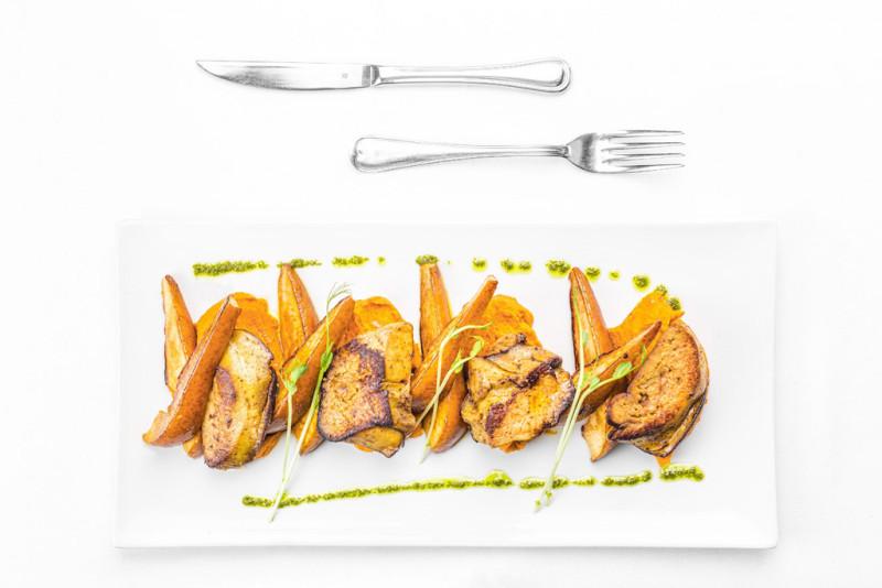 Ételfotó a székesfehérvári Diófa Étteremnek