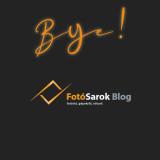 Elköszön a FotóSarok Blog közel egy évtized után